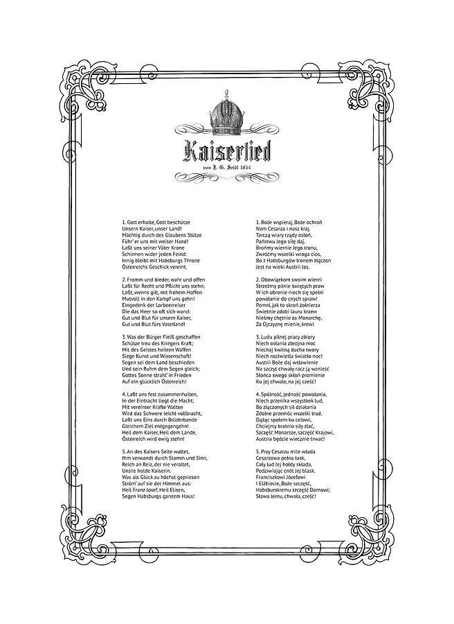 Kaiserlied - Polish by Helga Novelli