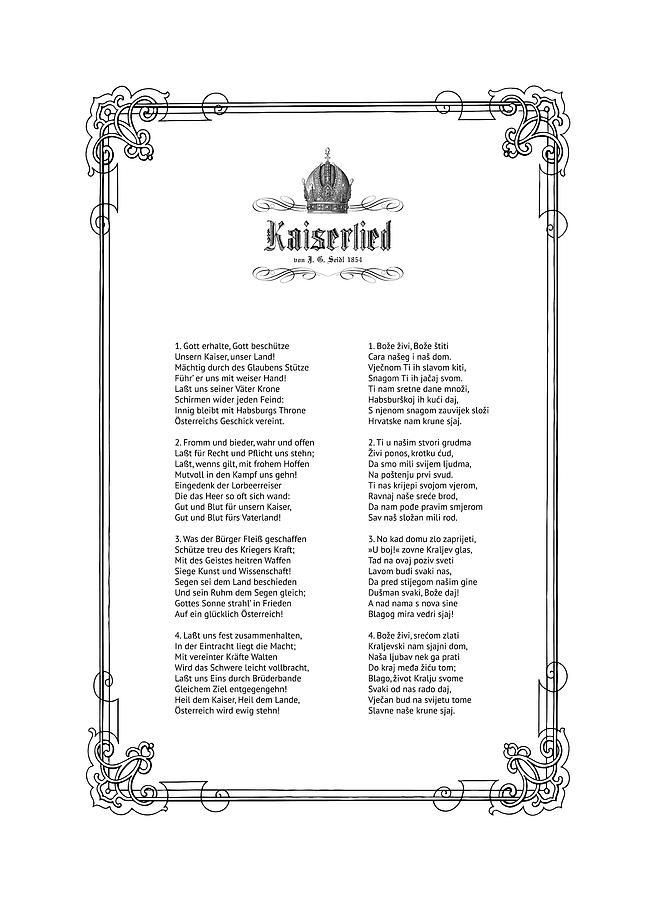 Kaiserlied - Slovenian by Helga Novelli