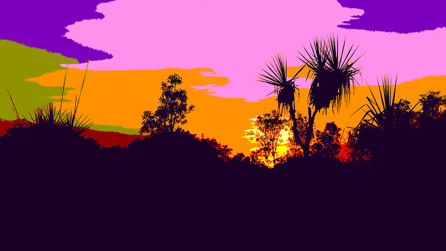 Kakadu Sunrise #3 - Pop Art by Lexa Harpell