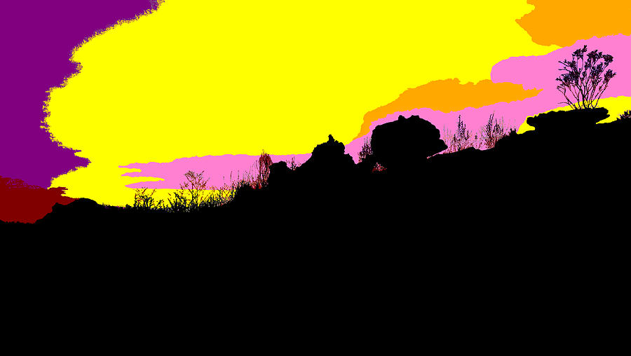 Kakadu Sunset #4 - Pop Art by Lexa Harpell