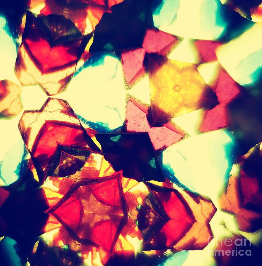 Red Photograph - Kaleidoscope Pattern by Sl photo