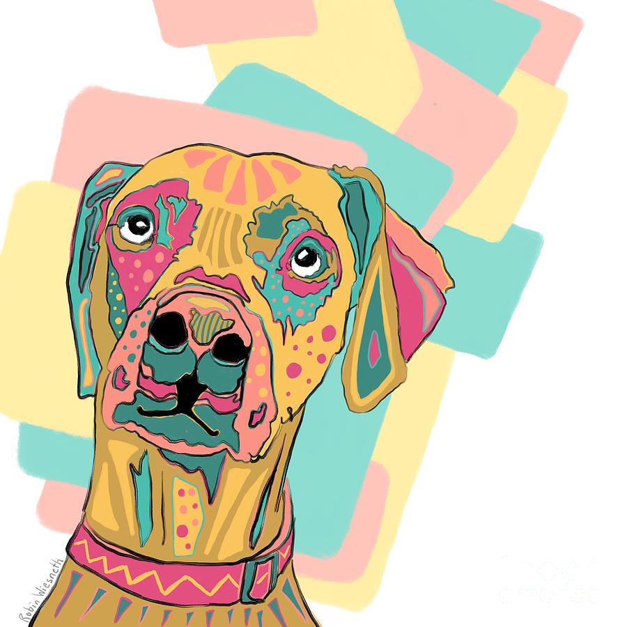 Kaleidoscope puppy by Robin Wiesneth