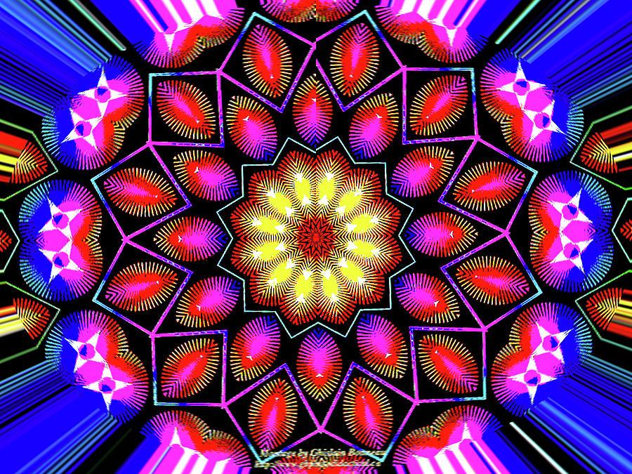 Kaleidoscopic Photograph - Kaleidoscopic by Bruce IORIO