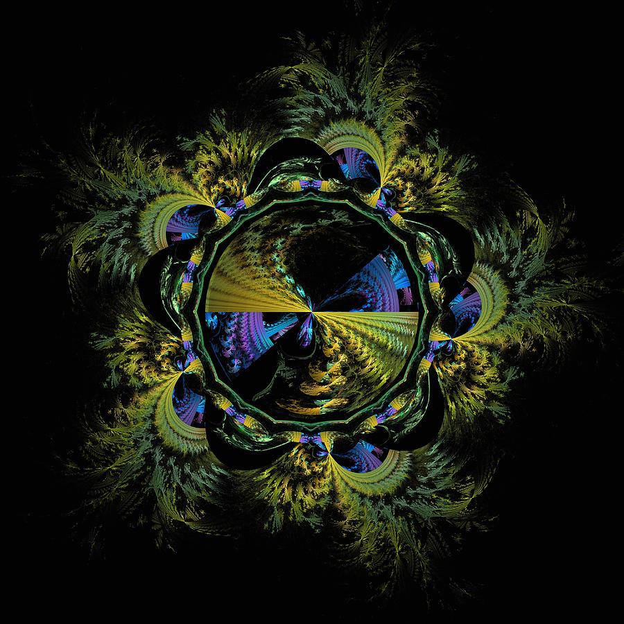 Kaleidoscopic Plumage Digital Art
