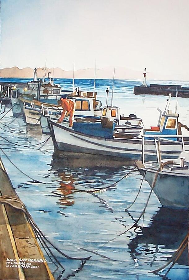 Kalk Bay Morning by Tim Johnson
