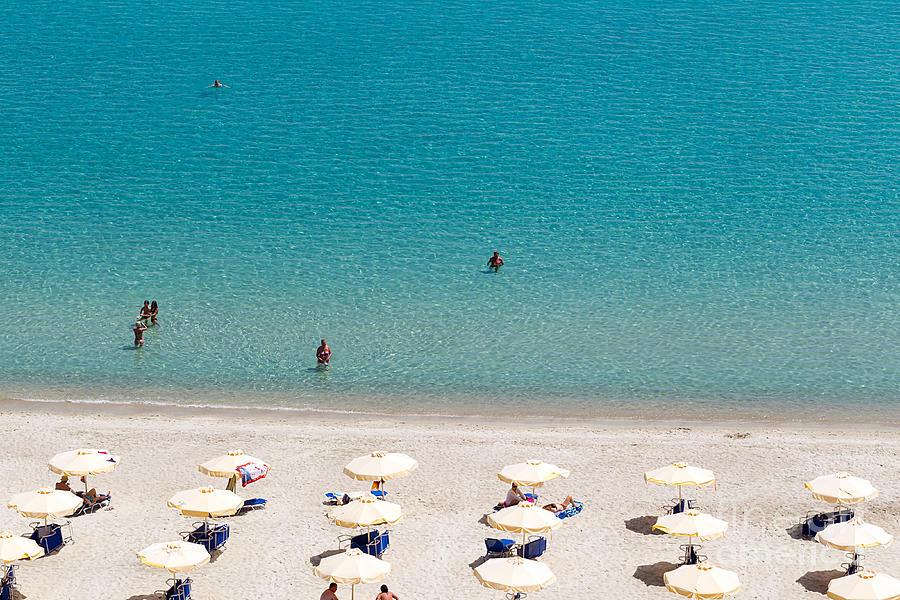 Camping Photograph - Kallithea Sunny Beach And Summer Resort by Ververidis Vasilis