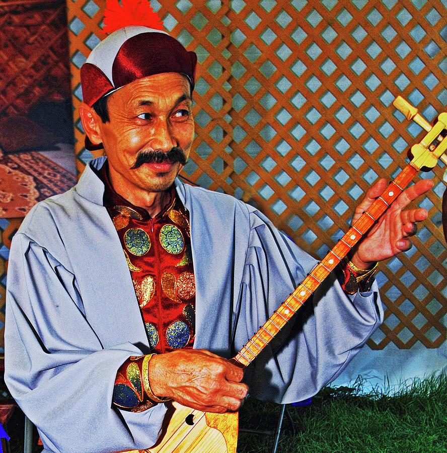 Kalmyk musician by Bill Jonscher