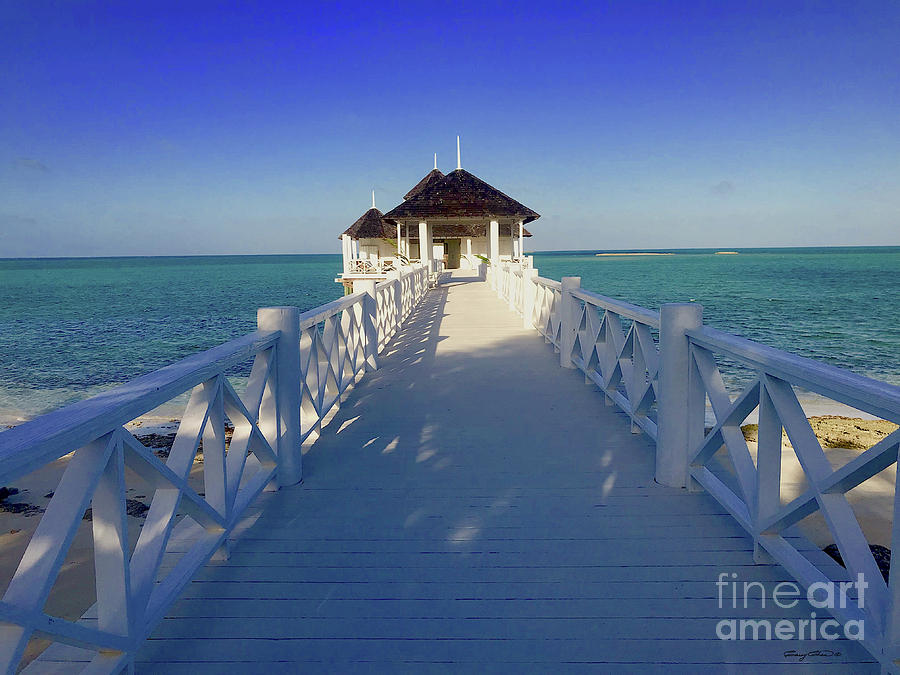 Kamalame Spa Walkway Photograph