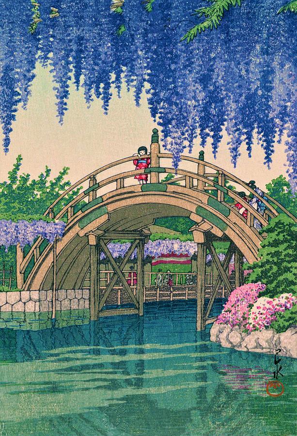 Edo Painting - Kamedonofuji - Top Quality Image Edition by Kawase Hasui