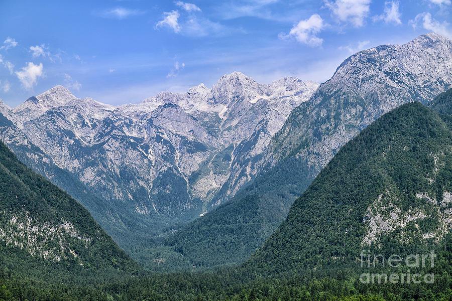 Kamnik Alps from Velike Planina by Norman Gabitzsch