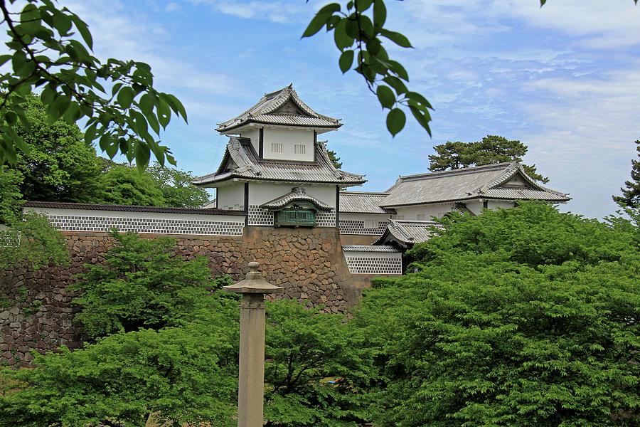 Kanazawa Castle - Kanazawa, Japan by Richard Krebs