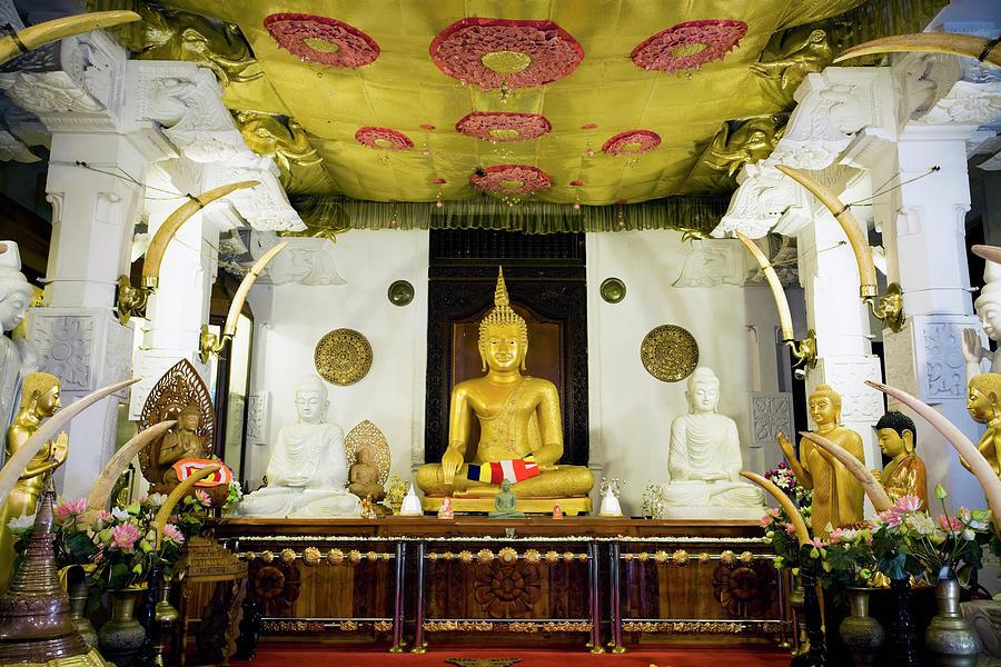 Kandy Sri Lanka Dalada Maligawa Photograph by Laughingmango