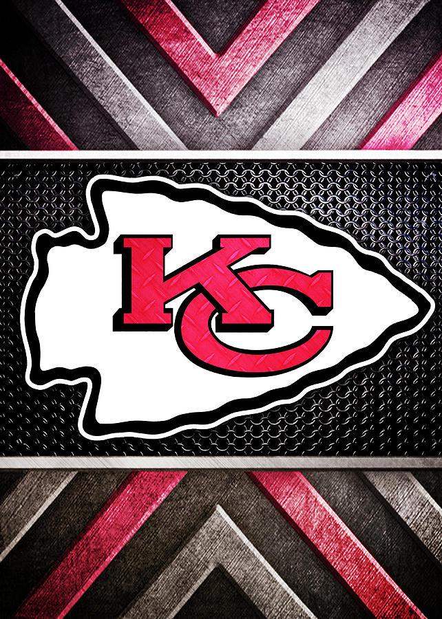 Kansas City Chiefs Logo Art Digital Art by William Ng