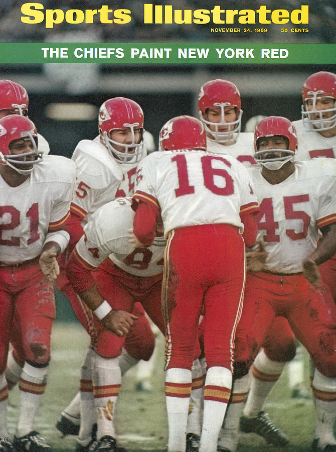 Kansas City Chiefs Offense Sports Illustrated Cover Photograph by Sports Illustrated