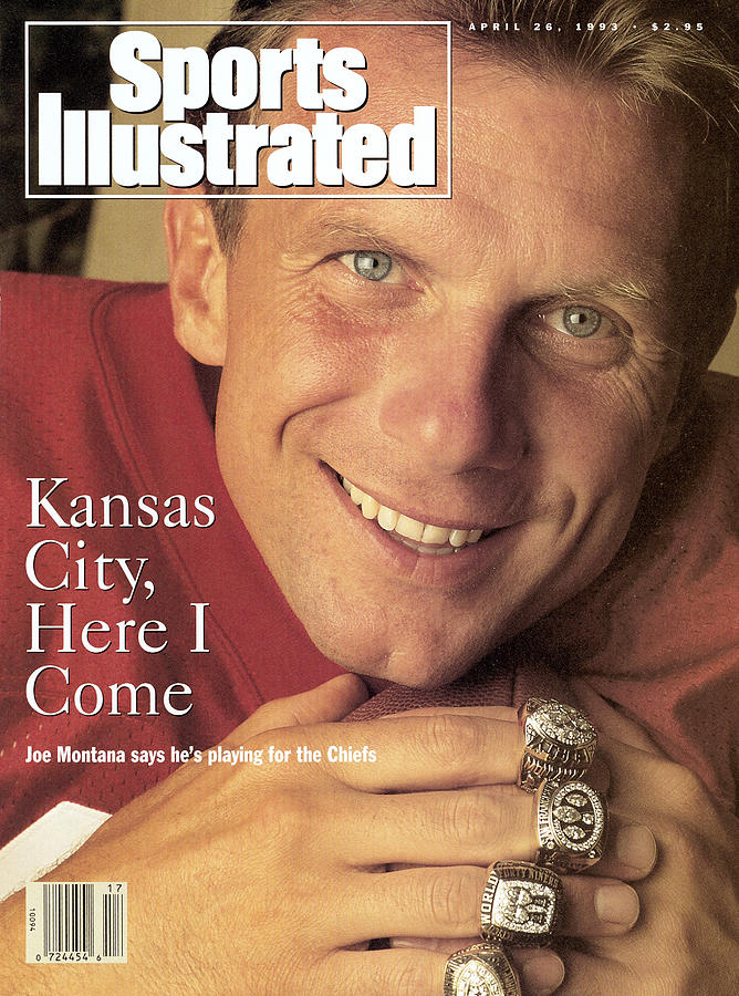 Kansas City Chiefs Qb Joe Montana Sports Illustrated Cover Photograph by Sports Illustrated