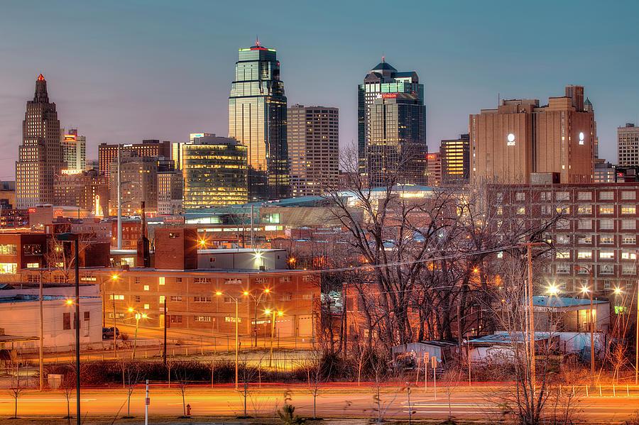 Kansas City Mo Skyline Photograph by Eric Bowers Photo