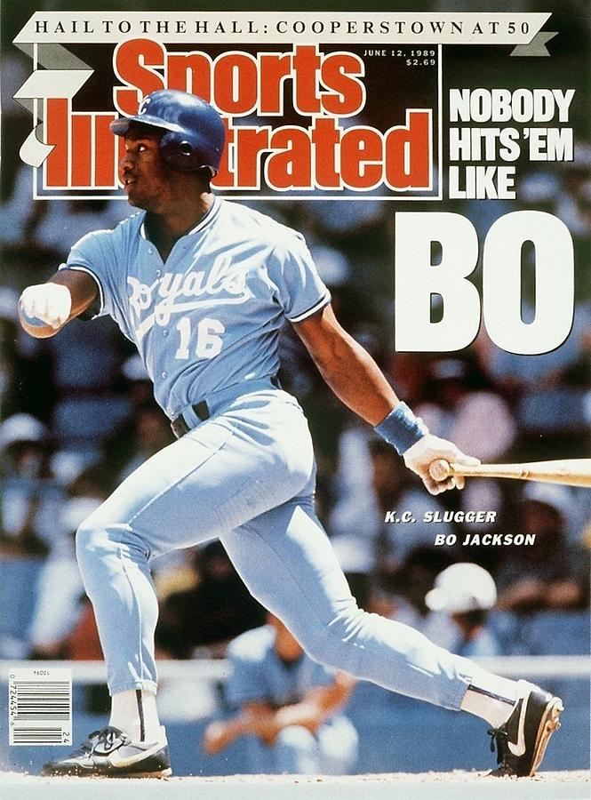 Kansas City Royals Bo Jackson... Sports Illustrated Cover Photograph by Sports Illustrated