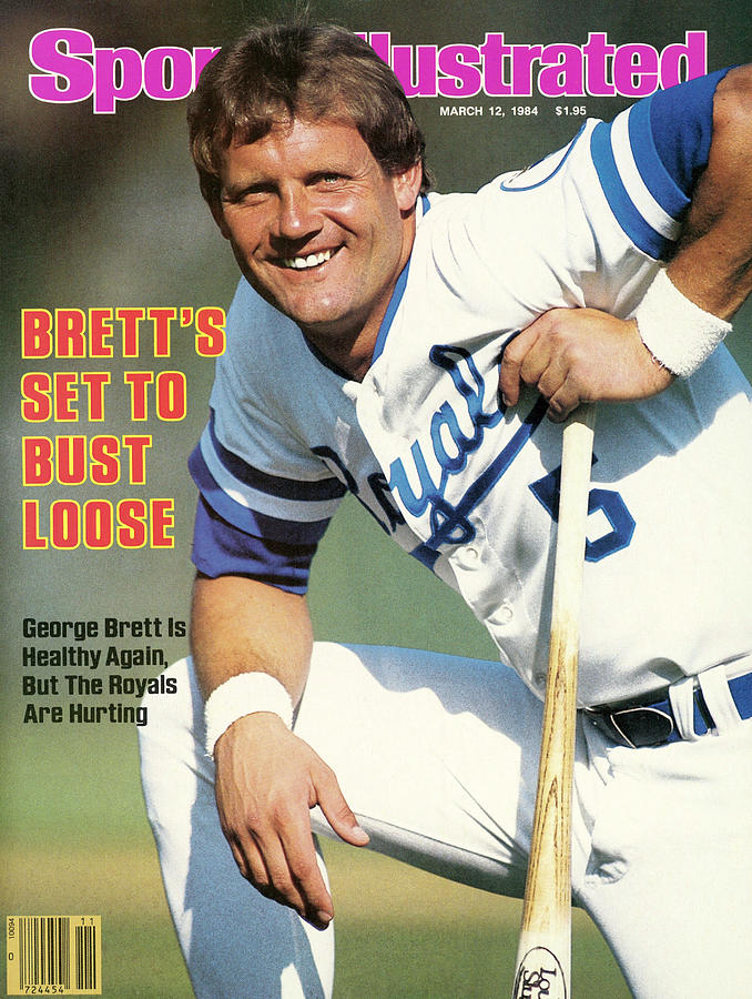 Kansas City Royals George Brett Sports Illustrated Cover Photograph by Sports Illustrated