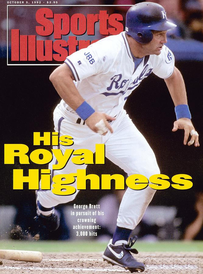 Kansas City Royals George Brett... Sports Illustrated Cover Photograph by Sports Illustrated