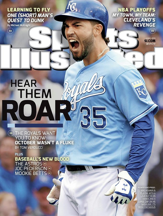 Kansas City Royals Hear Them Roar Sports Illustrated Cover Photograph by Sports Illustrated