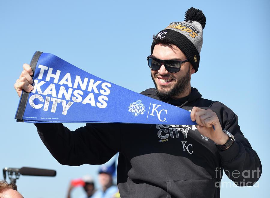 Kansas City Royals Parade Celebration Photograph by Ed Zurga