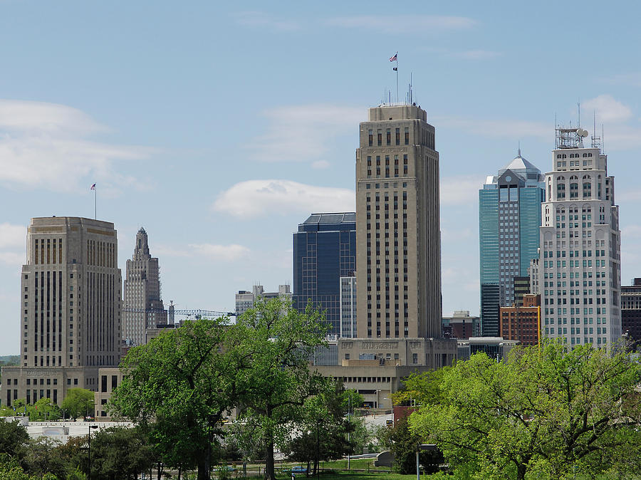 Kansas City View Photograph by Bwbimages