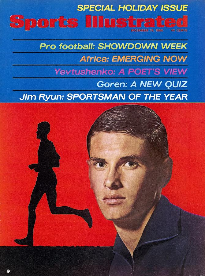 Kansas Jim Ryun, 1966 Sportsman Of The Year Sports Illustrated Cover Photograph by Sports Illustrated