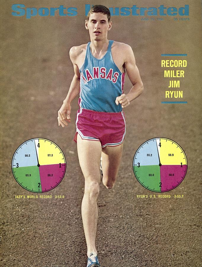 Kansas Jim Ryun Sports Illustrated Cover Photograph by Sports Illustrated
