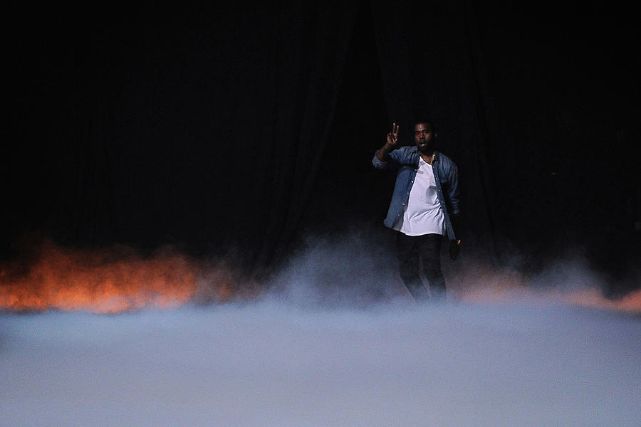 People Photograph - Kanye West Show  Runway - Paris Fashion by Pascal Le Segretain