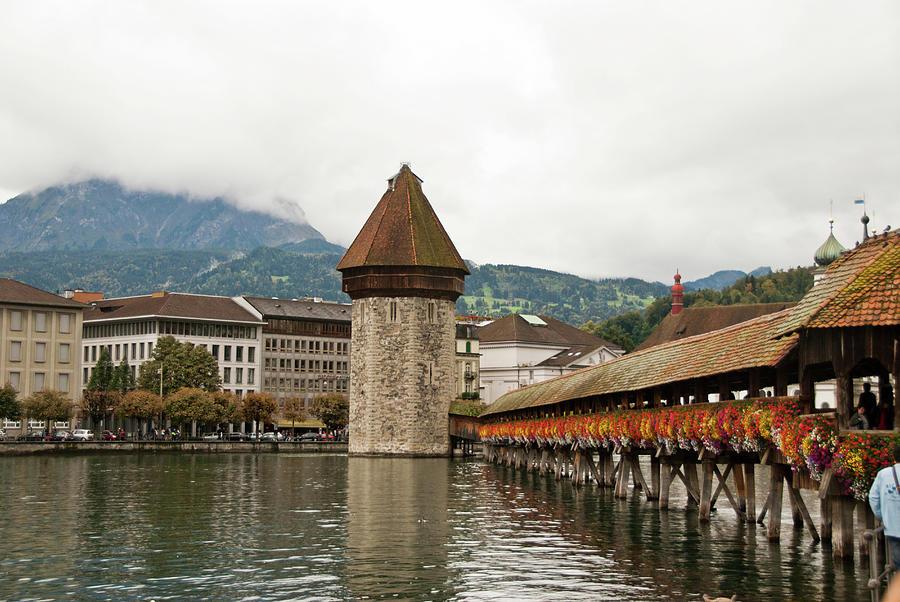 Kapellbrucke On Reuss River, Lucerne Photograph by Cultura Rf/rosanna U