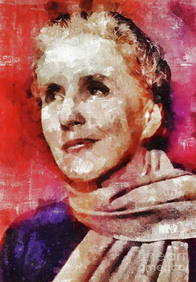 Karen Blixen, Literary Legend Painting