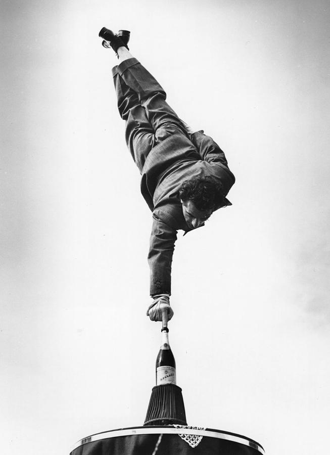 Karl Carsony Photograph by Charles Hewitt
