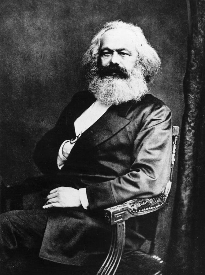 Karl Marx Photograph by Henry Guttmann Collection
