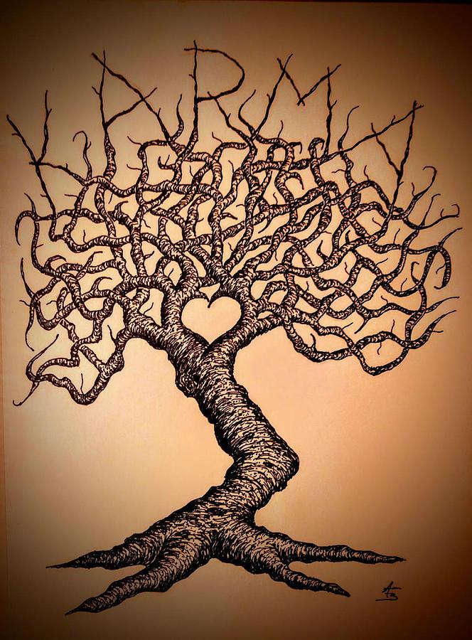 Karma Love Tree by Aaron Bombalicki