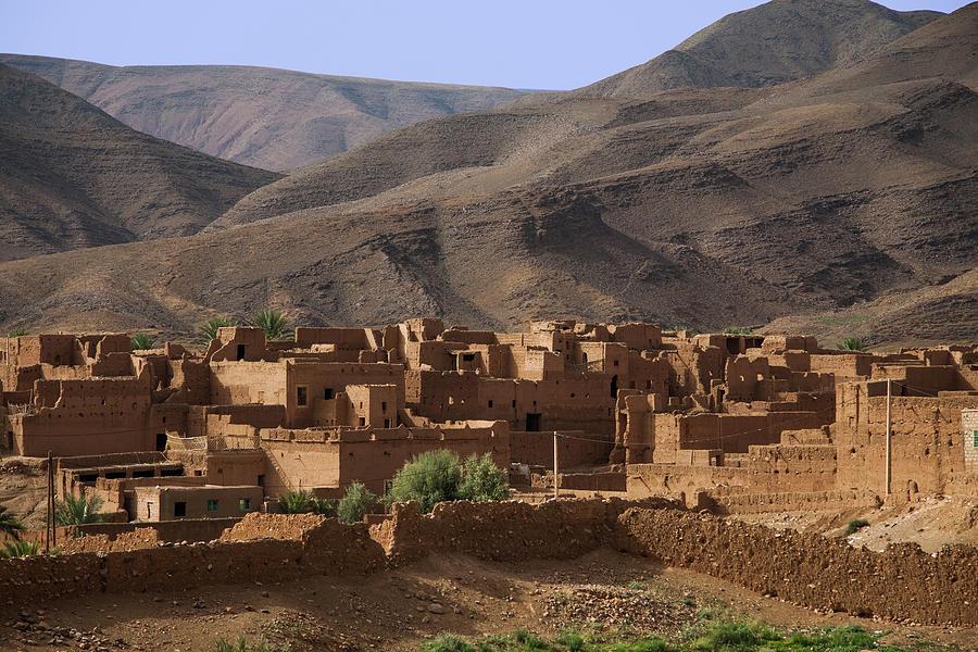 Kasbah Morocco Photograph by Paul Boyden - Polimo