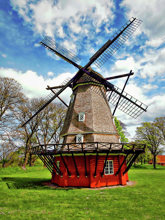 Kastellet Windmill by Anthony Dezenzio