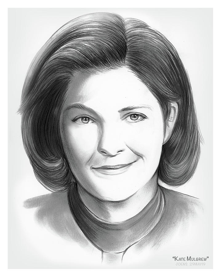Kate Mulgrew by Greg Joens