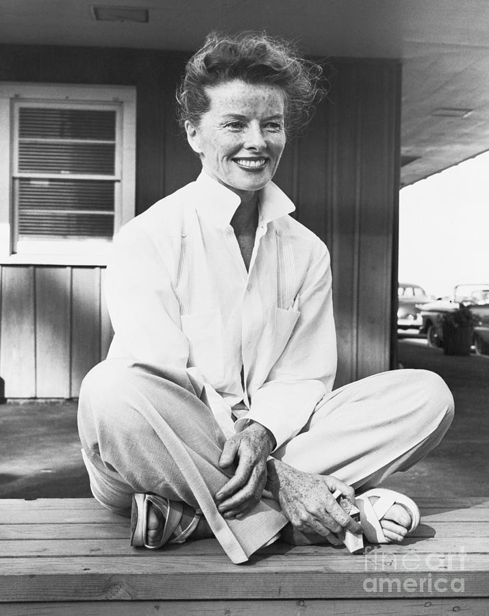 Katharine Hepburn Photograph by Bettmann