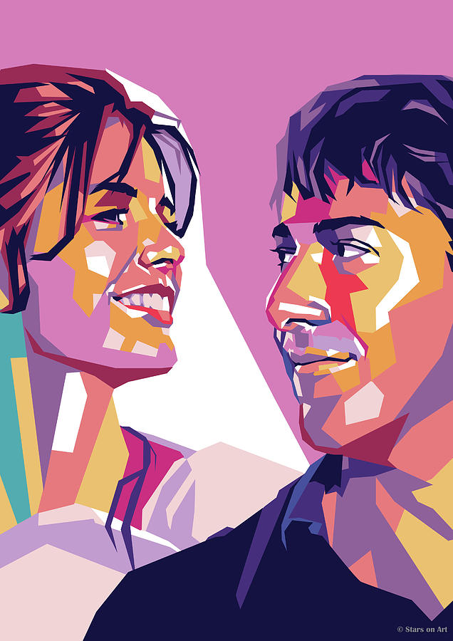Katharine Ross And Dustin Hoffman Digital Art