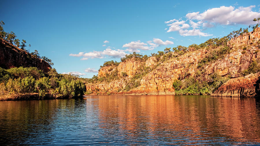 Changing Colors of Katherine Gorge by Catherine Reading