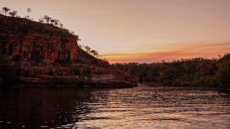 Katherine Gorge Sunset by Catherine Reading
