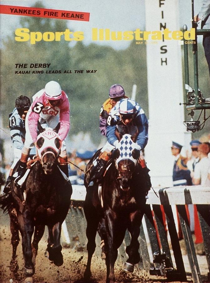 Kauai King, 1966 Kentucky Derby Sports Illustrated Cover Photograph by Sports Illustrated