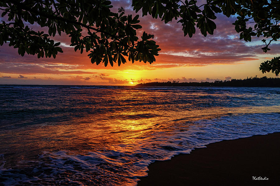 Kauaian Sunrise by Tim Kathka