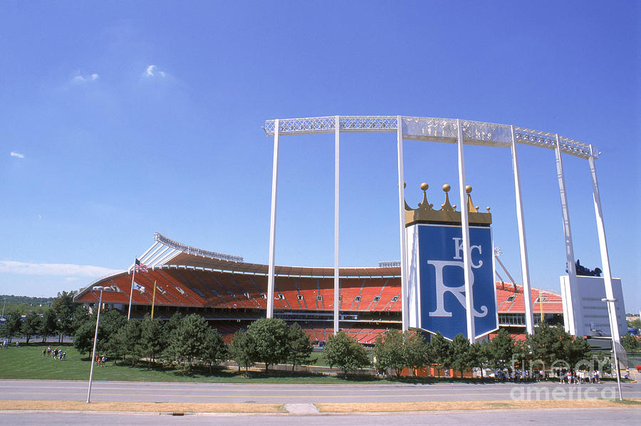 Kauffman Stadium Photograph by Stephen Dunn