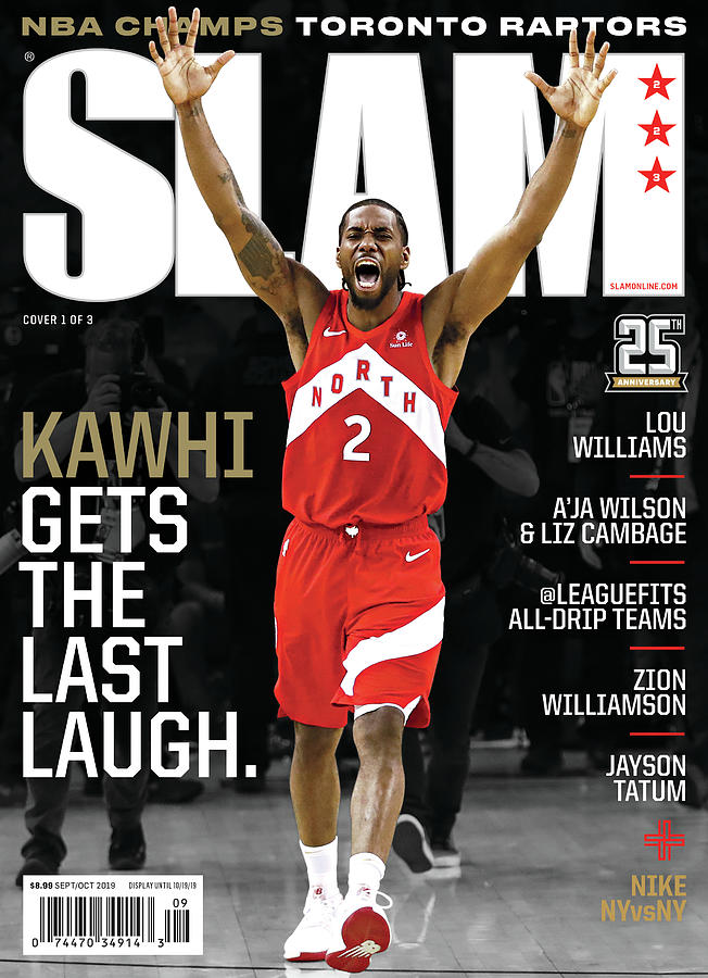Kawhi Gets the Last Laugh. SLAM Cover Photograph by Getty Images