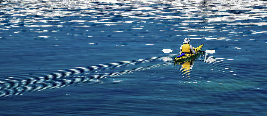 Kayak Light by Martin Gollery