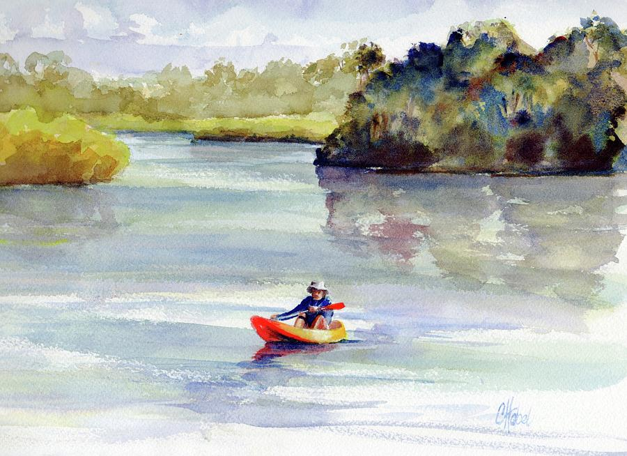 Kayaking the Noosa River by Chris Hobel
