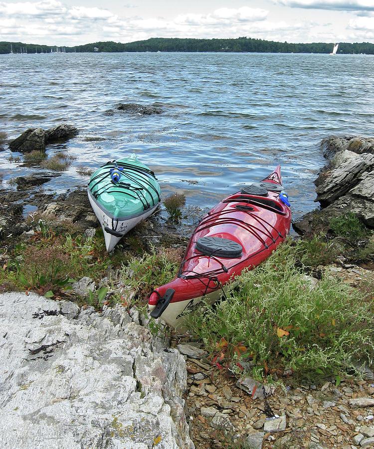 Kayaks #1 by Paul Schreiber