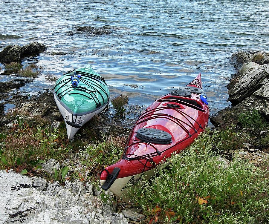 Kayaks #2 by Paul Schreiber
