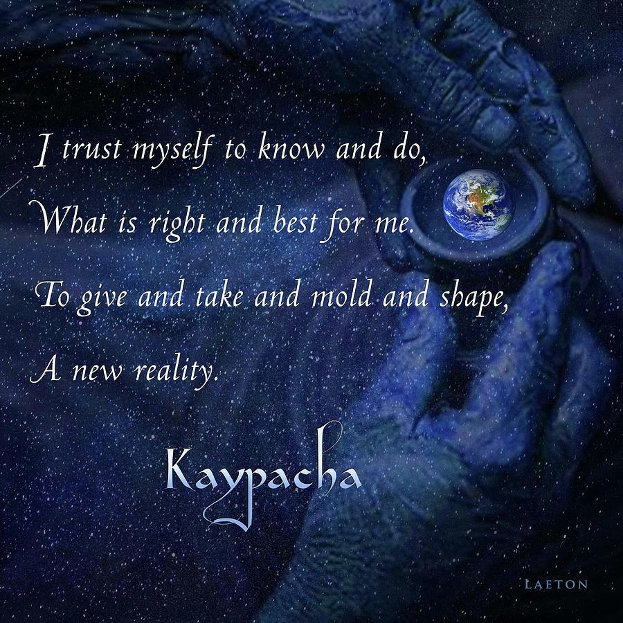Kaypacha 3, 2019 by Richard Laeton